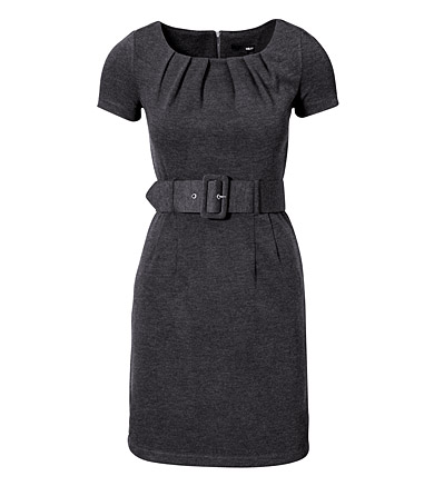 HM grey dress