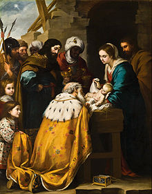 Adoration of the Magi by Bartolomé Esteban Murillo, 17th century (Toledo Museum of Art, Ohio)